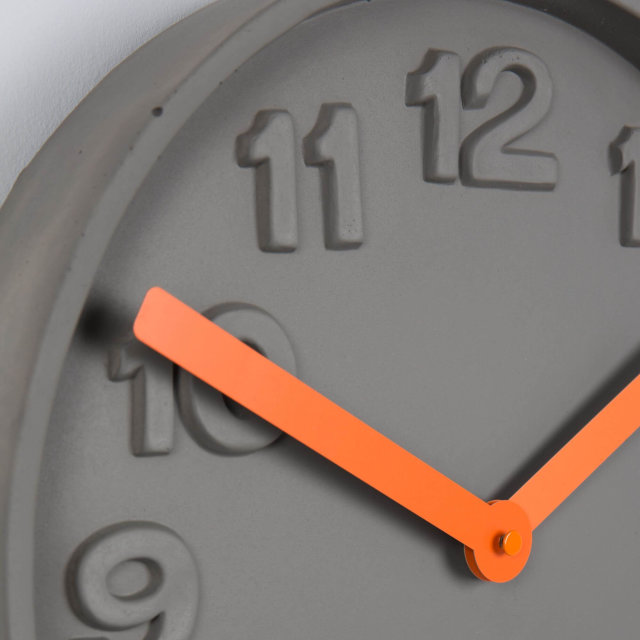 Sat Concrete Time Orange