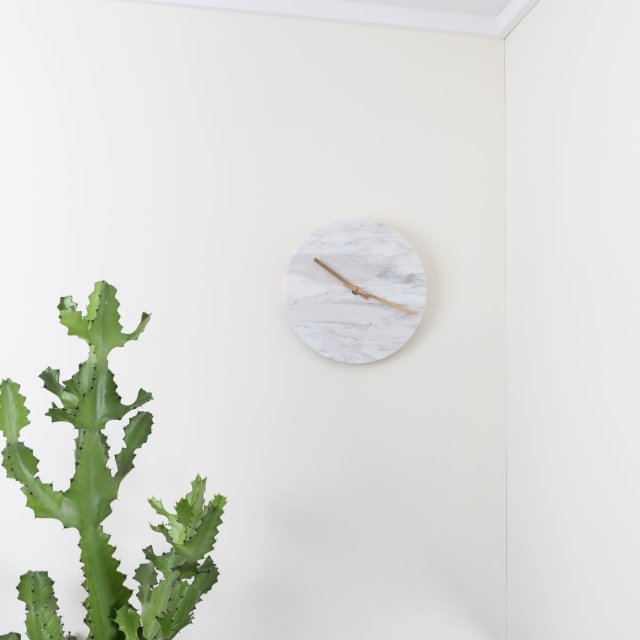 Sat Marble Time White