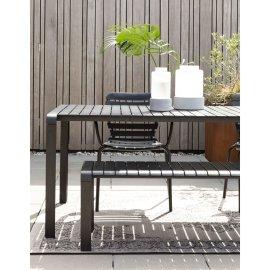 Vrtni stol Vondel 168,5x87 cm Black