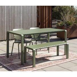 Vrtni stol Vondel 168,5x87 cm Green
