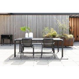 Vrtni stol Vondel 214x97 cm Black