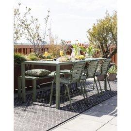 Vrtni stol Vondel 214x97 cm Green