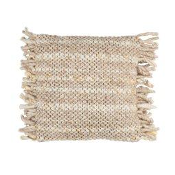 Ukrasni jastuk Frills Beige/Yellow