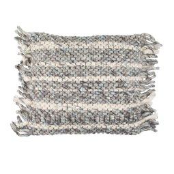 Ukrasni jastuk Frills Grey/Blue