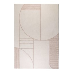 Tepih Bliss 160x230 cm Natural/Pink