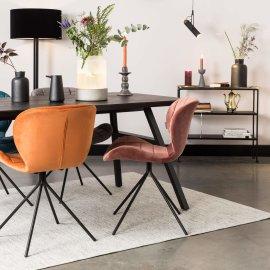 Stol Seth 180x90 cm Black