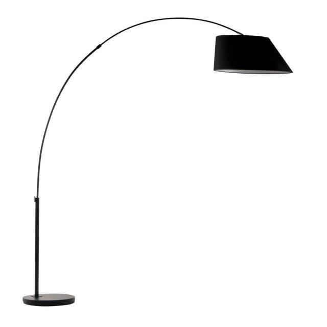 Podna lampa Arc Black