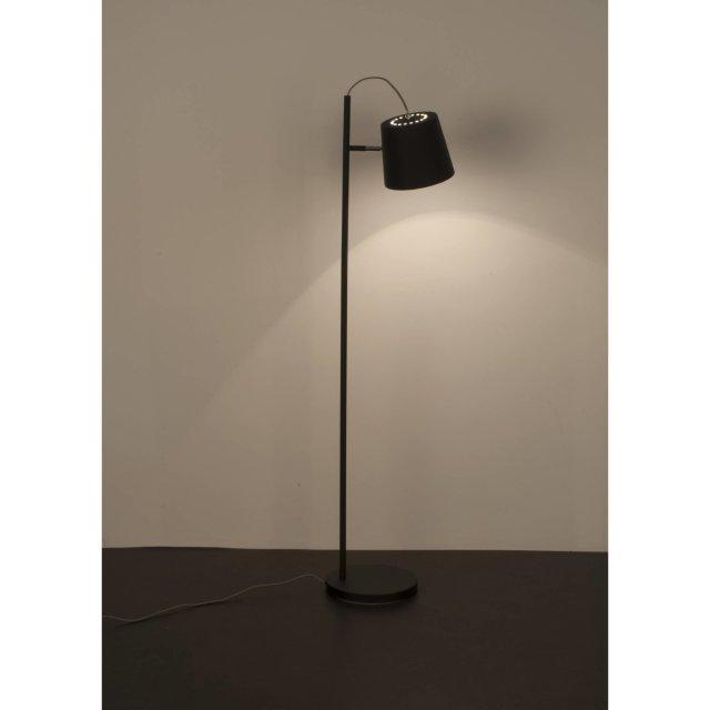 Podna lampa Buckle Head Black