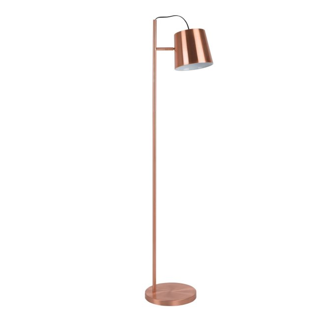 Podna lampa Buckle Head Copper