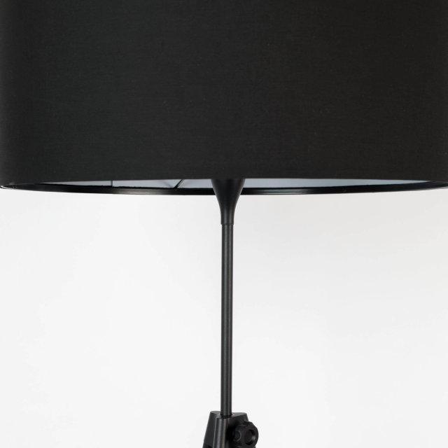 Podna lampa Lesley Black