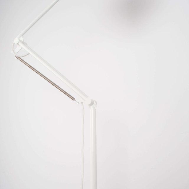 Podna lampa Reader Matt White