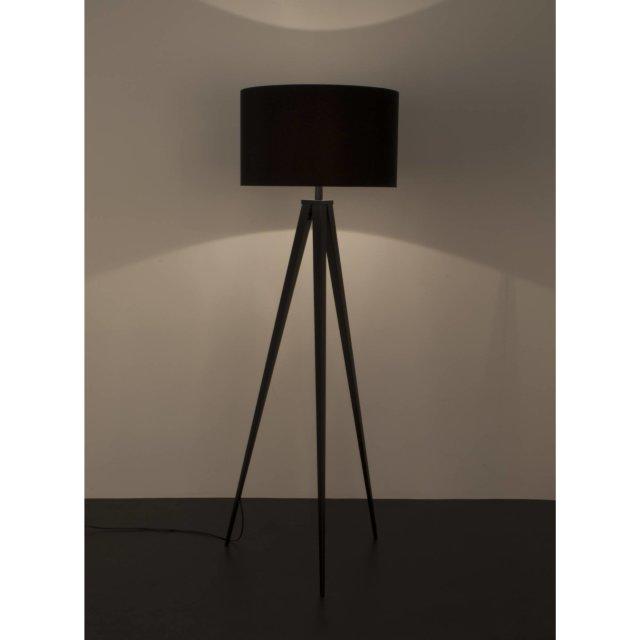 Podna lampa Tripod Black