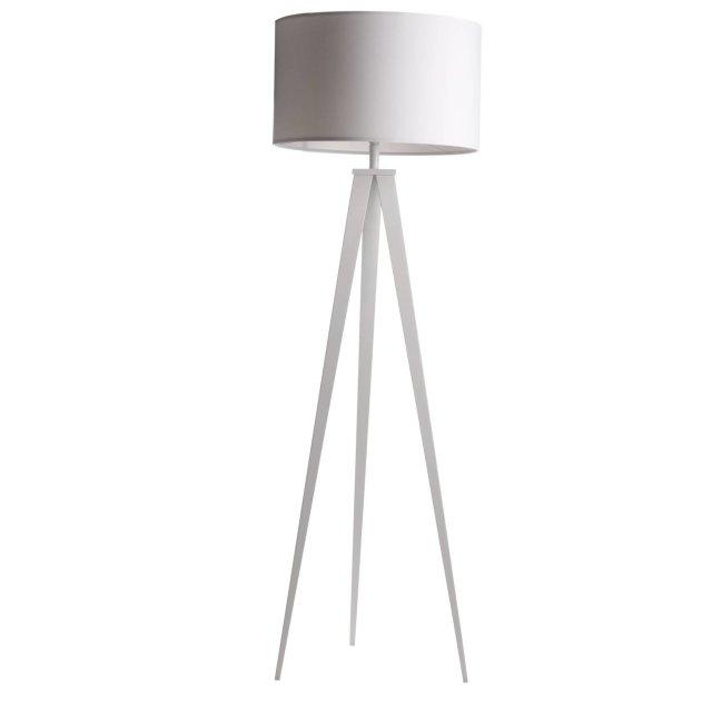 Podna lampa Tripod White