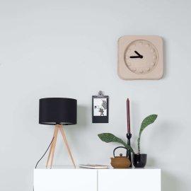 Stolna lampa Tripod Wood Black