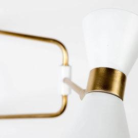 Zidna lampa Shady White