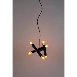 Stropna lampa Hawk Black Triple