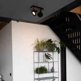 Spot lampa Dice-2 DTW Black