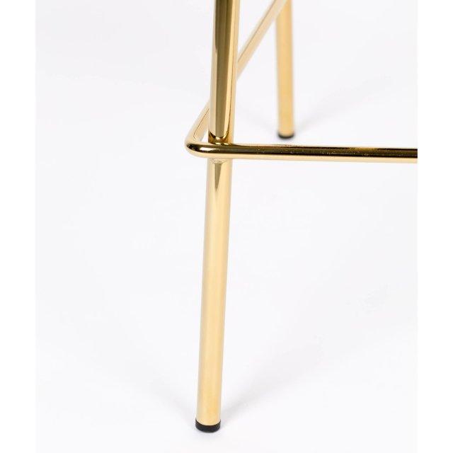 Polubarska stolica Jolien Gold/Dark Blue