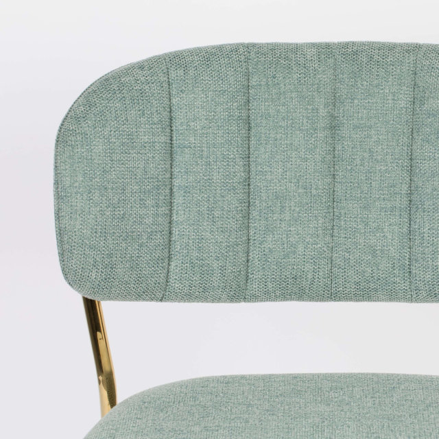 Polubarska stolica Jolien Gold/Light Green
