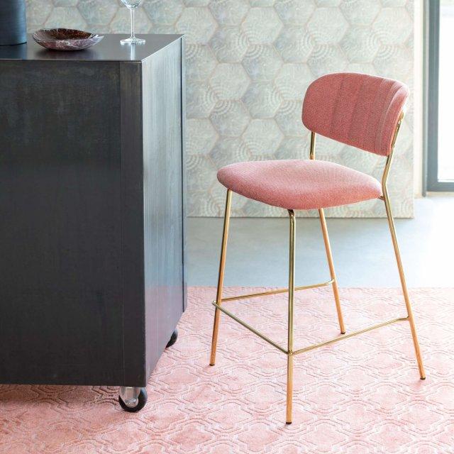 Polubarska stolica Jolien Gold/Pink