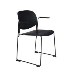 Stolica s rukonaslonom Stacks Black