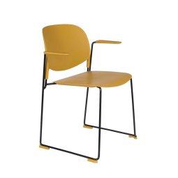 Stolica s rukonaslonom Stacks Ochre
