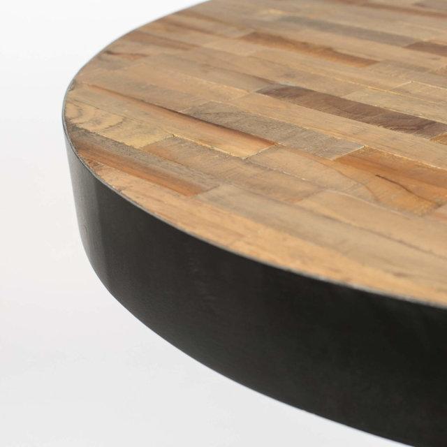 Barski stol Maze Round Natural
