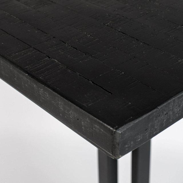 Polubarski stol Maze Square Black