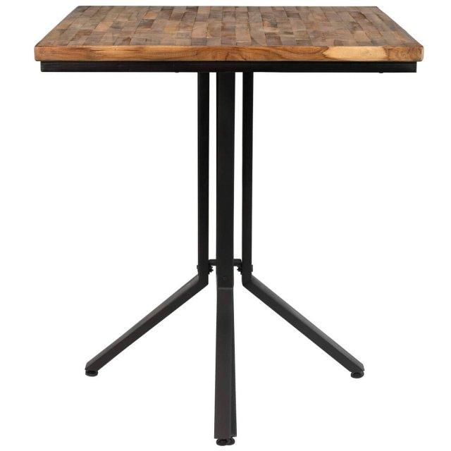 Polubarski stol Maze Square Natural