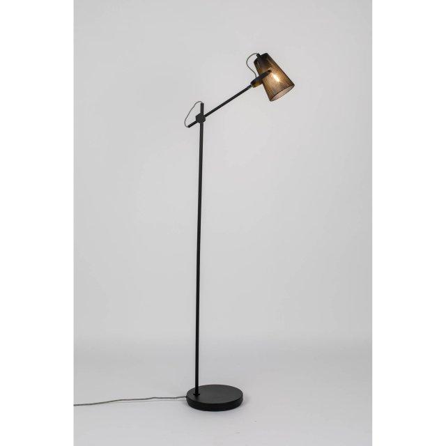 Podna lampa Fokus Black