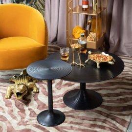 Stolić za kavu Hypnotising Round Black