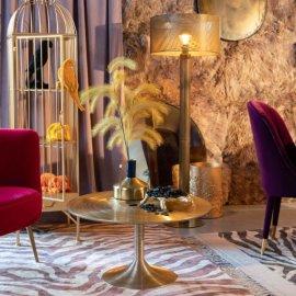 Stolić za kavu Hypnotising Round Gold