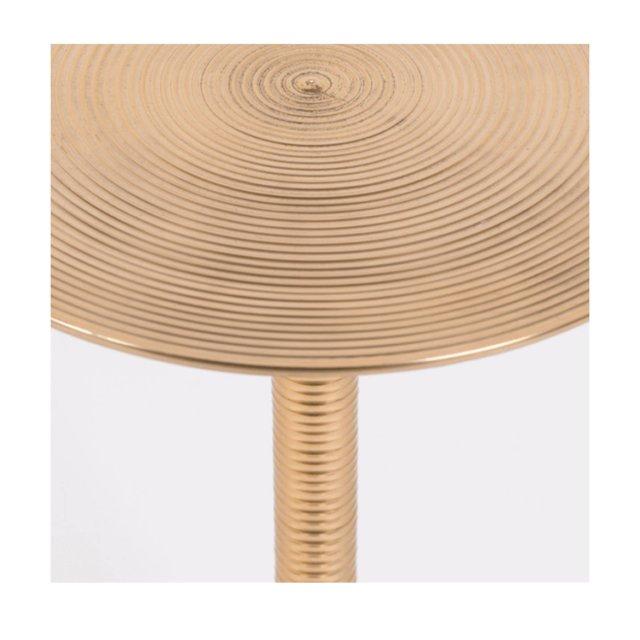 Pomoćni stolić Hypnotising Round Gold