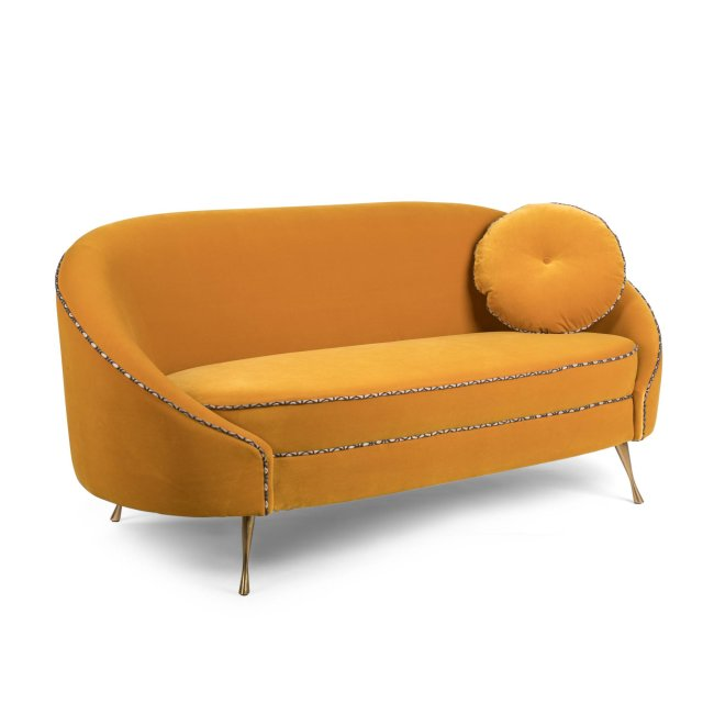 Sofa 'Don't Love Me Love Sofa' Ochre