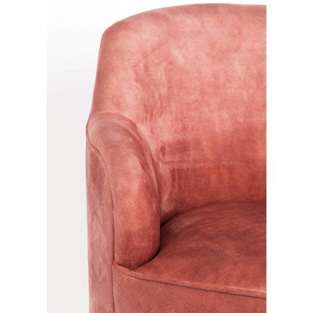 Fotelja Fringe Me Up Old Pink
