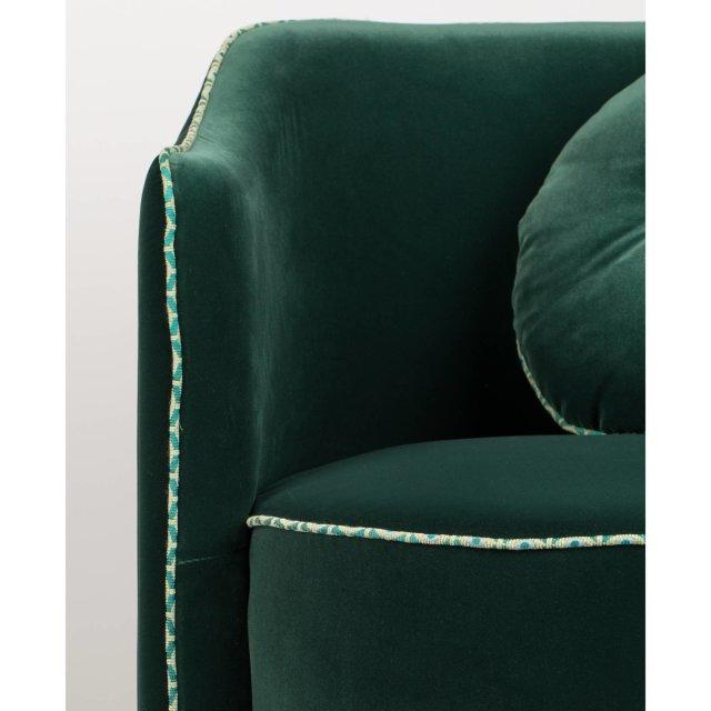 Fotelja Sassy Granny Dark Green