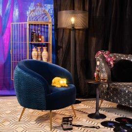 Fotelja So Curvy Royal Blue
