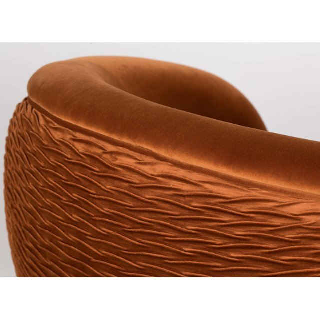Fotelja So Curvy Orange
