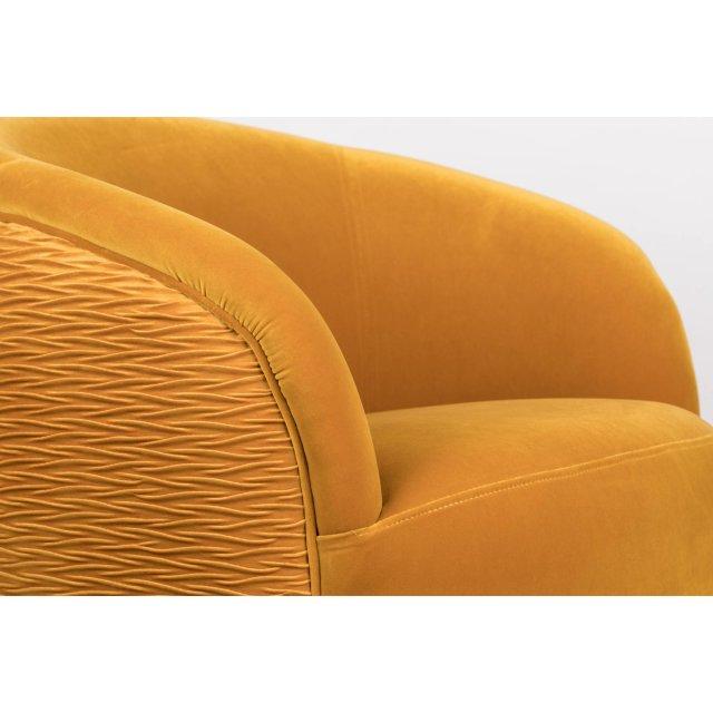 Fotelja So Curvy Ochre