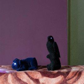 Stolna lampa Devilish Bulldog Light Blue
