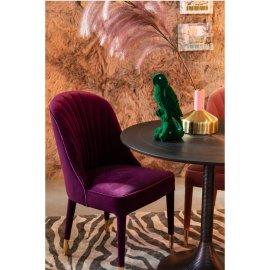 Stolica Give Me More Velvet Purple