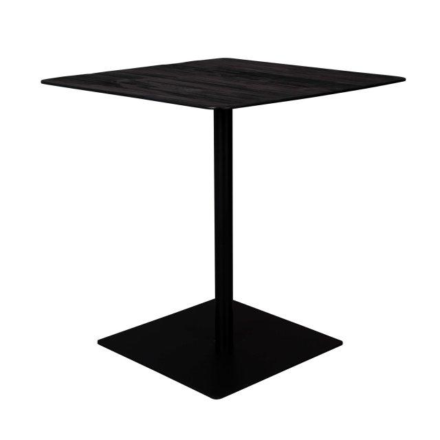 Bistro stol Braza Square Black