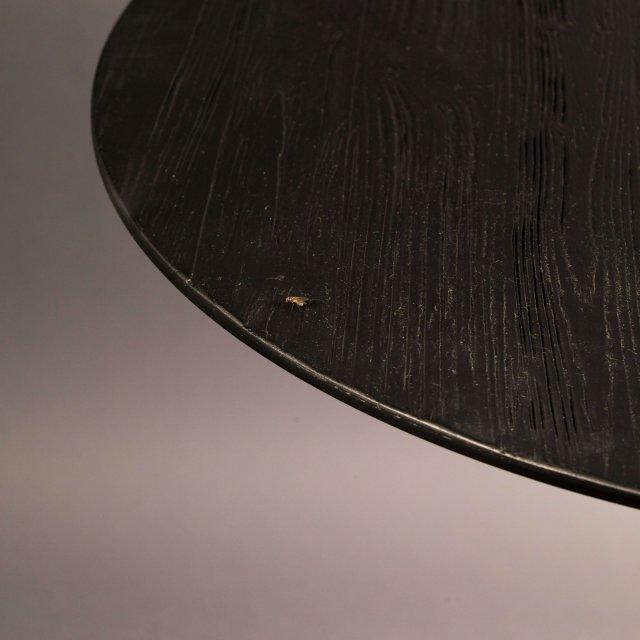 Polubarski stol Braza Round Black