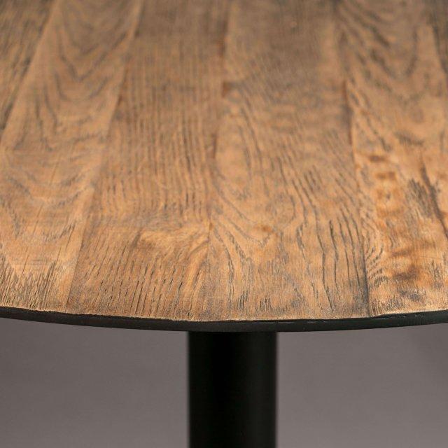 Polubarski stol Braza Round Brown
