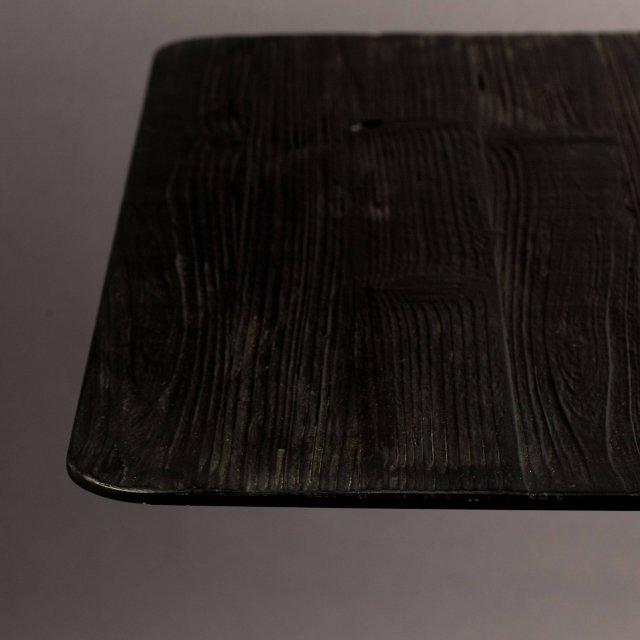 Polubarski stol Braza Square Black