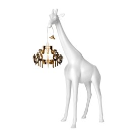 Giraffe in Love XS White