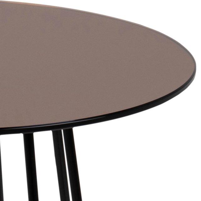 Pomoćni stolić Casia Mirror Copper/Black
