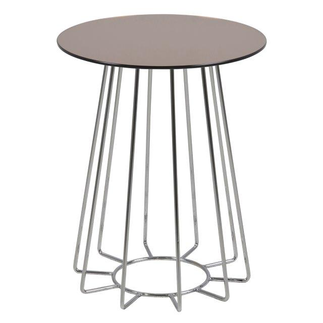 Pomoćni stolić Casia Mirror Copper/Metal