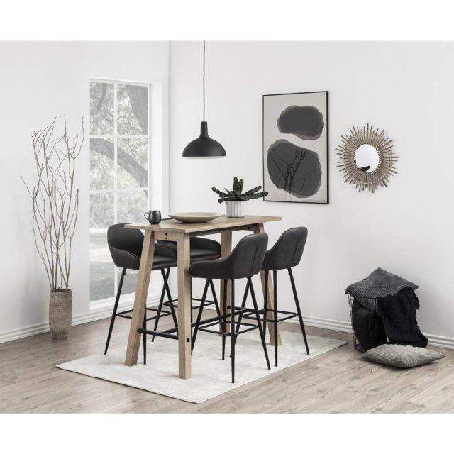 Barska stolica Candis Grey