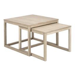 Stolić za kavu Cornus Natural - set od 2 kom.